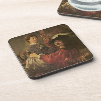 'The Prodigal Son in a Tavern' Beverage Coaster