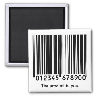 """""""The Product is You"""" Magnet"""