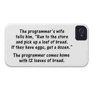 The Programmer and His Wife - Second in a series iPhone 4 Cover