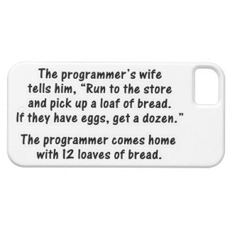 The Programmer and His Wife - Second in a series iPhone SE/5/5s Case