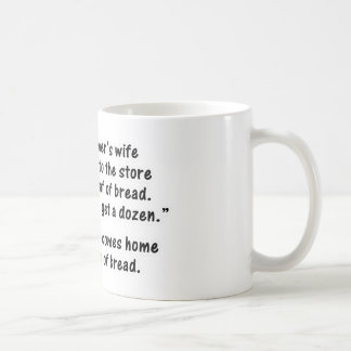 The Programmer and His Wife - Second in a series Classic White Coffee Mug