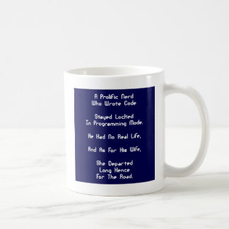 The Programmer Nerd Blues Coffee Mug