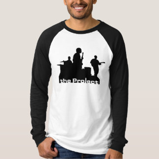 The Project mens Long Sleved Logo Shirt
