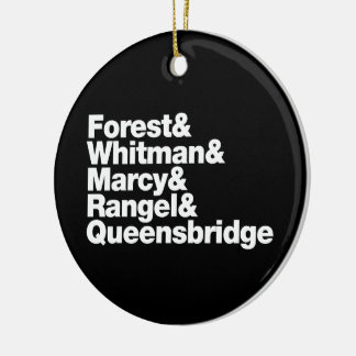 The Projects Ceramic Ornament