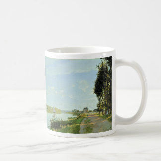 The Promenade at Argenteuil (1872) Coffee Mug
