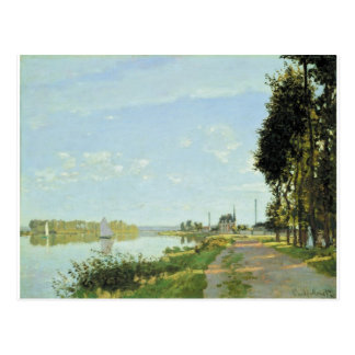 The Promenade at Argenteuil (1872) Postcard