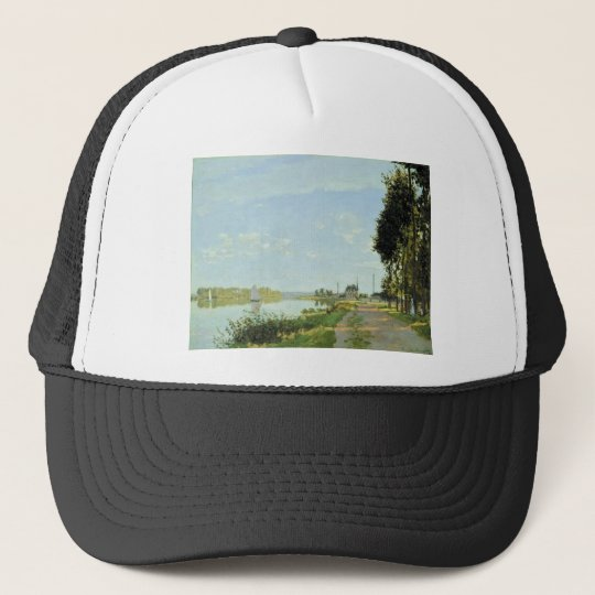 The Promenade at Argenteuil (1872) Trucker Hat
