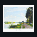 """The Promenade at Argenteuil  Claude Monet Canvas Print<br><div class=""""desc"""">The Promenade at Argenteuil,   Claude Monet cool,  old,  master,  masterpiece,  fine,  retored,   impressionism,  paint,  painting,  vibrant,  saturated,  colour,   beautiful,  nice,  quality,  high,  resolution,  landscape,  scenery,   post,  decoration,  colors,  paris,  france,  renewed best,  seller,  colourful, cheap</div>"""