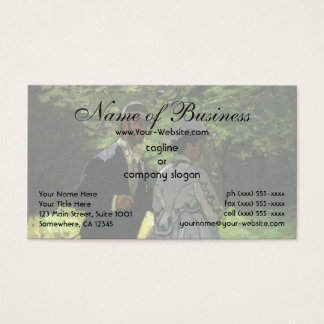 The Promenaders (The Strollers) by Claude Monet Business Card
