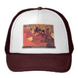 The Promenoir Of Rouge Trucker Hats