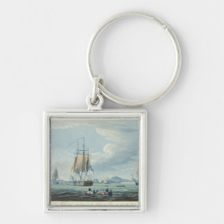 The Prometheus and the Melpomene in the Gulf of Ri Keychain