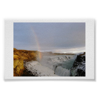 The Promise at Gullfoss Poster