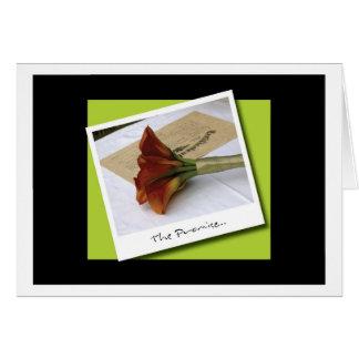 The Promise Card... Card
