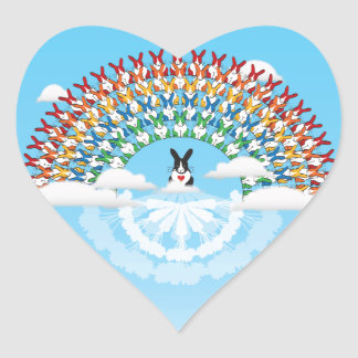 THE PROMISE HEART STICKER