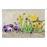 The Promise of Spring - Modern Watercolor Floral Print