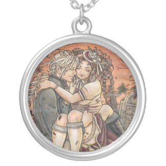 The Promise romantic Round Necklace