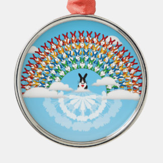 THE PROMISE ROUND METAL CHRISTMAS ORNAMENT