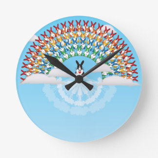 THE PROMISE ROUND WALL CLOCK