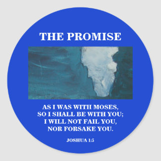 THE PROMISE ROUND STICKERS