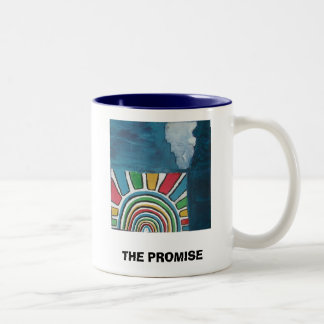 THE PROMISE Two-Tone COFFEE MUG