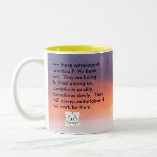 The Promises Two-Tone Coffee Mug