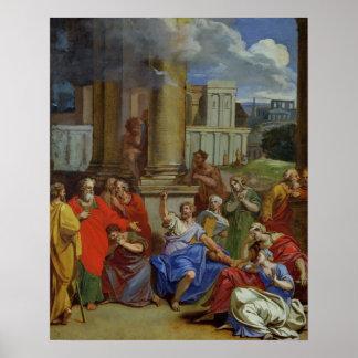 The Prophet Agabus Predicting Poster