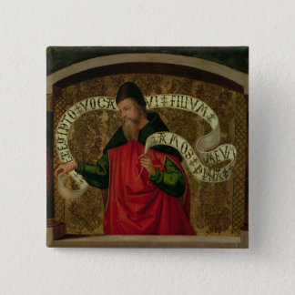 The Prophet Amos, 1535 Button