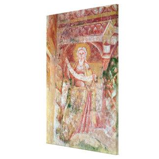 The Prophet Daniel Canvas Print