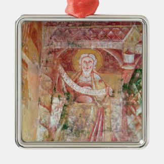 The Prophet Daniel Metal Ornament