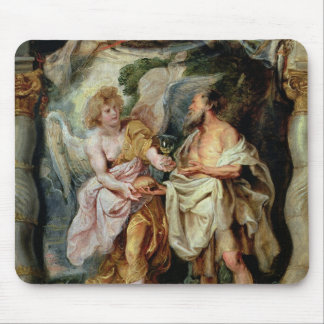 The Prophet Elijah and the Angel Mouse Pad