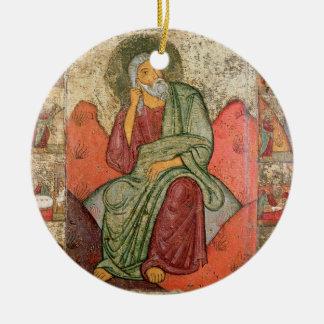 The Prophet Elijah, Pskov School (panel) Ceramic Ornament