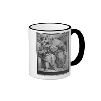 The Prophet Ezekiel, after Michangelo Buonarroti Ringer Coffee Mug