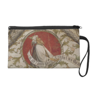 The Prophet Habakkuk, from the Loggia d'Annunciazi Wristlet Clutches
