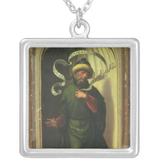 The Prophet Habakkuk Silver Plated Necklace