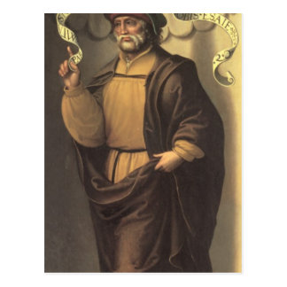 The Prophet Isaiah Postcard
