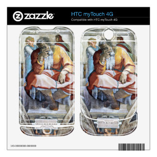 The prophet Jeremiah by Michelangelo Unterberger Skins For HTC myTouch 4G