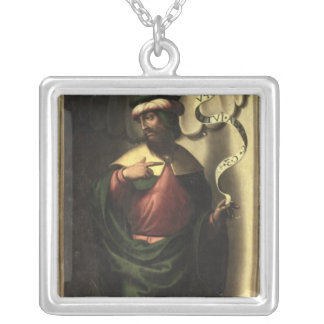 The Prophet Jeremiah Silver Plated Necklace