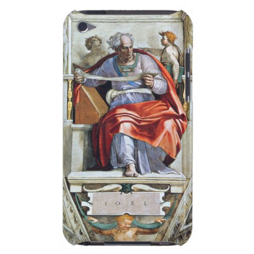 The prophet Joel by Michelangelo Unterberger iPod Touch Cover