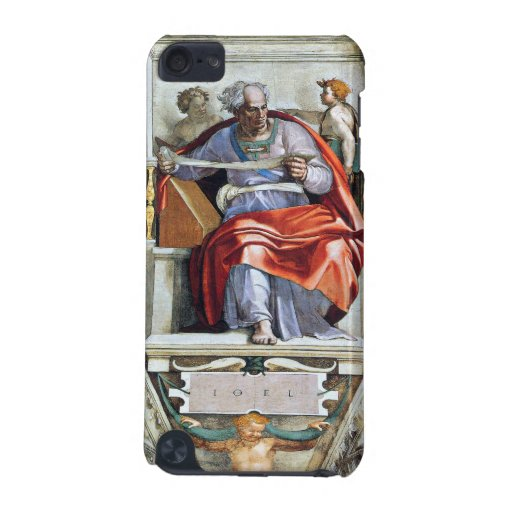 The prophet Joel by Michelangelo Unterberger iPod Touch (5th Generation) Case