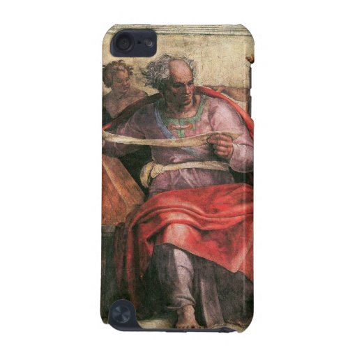 The prophet Joel detail by Michelangelo iPod Touch 5G Cases