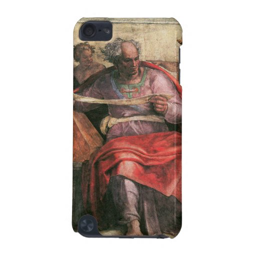 The prophet Joel detail by Michelangelo iPod Touch 5G Cover