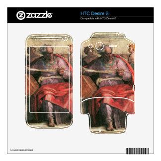 The prophet Joel detail by Michelangelo HTC Desire S Decal