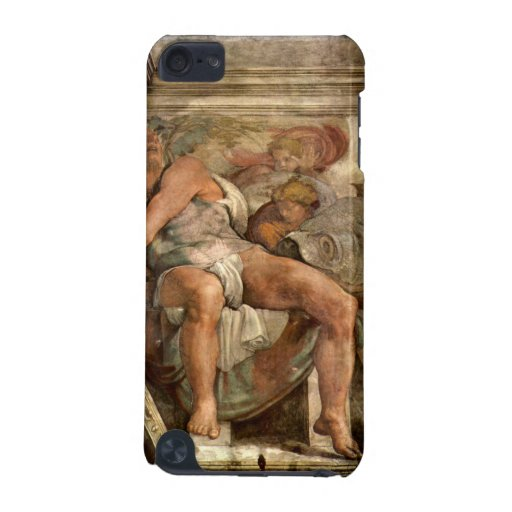 The prophet Jonas by Michelangelo Unterberger iPod Touch (5th Generation) Case