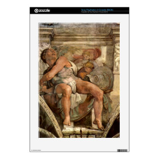 The prophet Jonas by Michelangelo Unterberger Skins For PS3