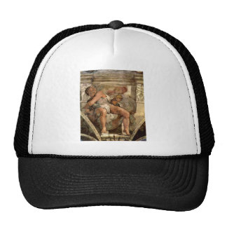 The prophet Jonas by Michelangelo Unterberger Trucker Hat