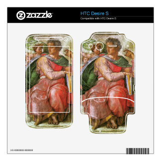 The prophet Josiah detail by Michelangelo Skin For The HTC Desire S
