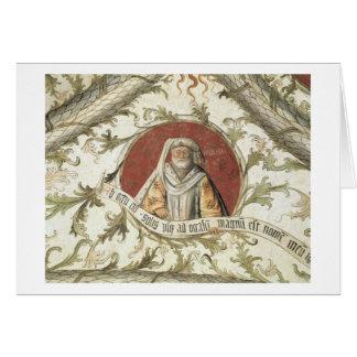 The Prophet Malachi, from the Loggia d'Annunciazio Card