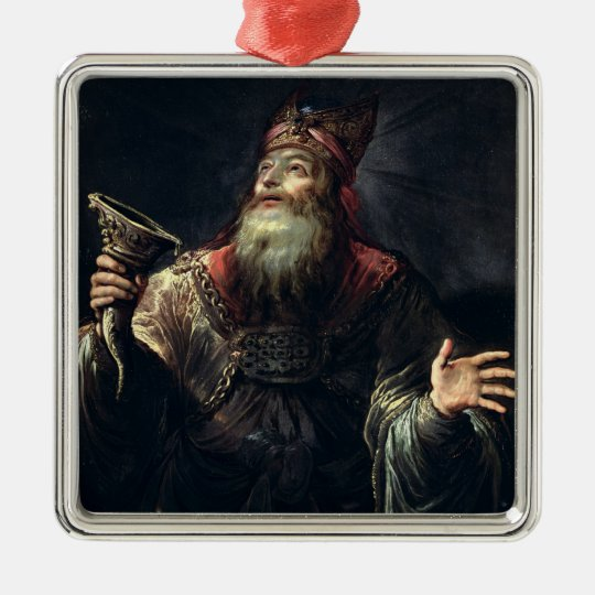 The Prophet Samuel Metal Ornament