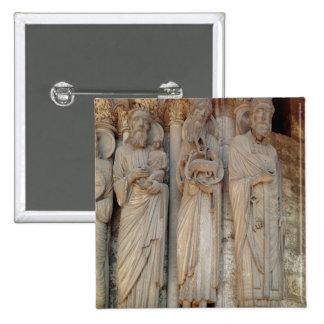 The Prophet Simeon, St. John the Baptist Pinback Button