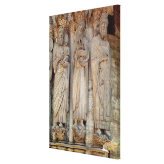 The Prophet Simeon, St. John the Baptist Canvas Print